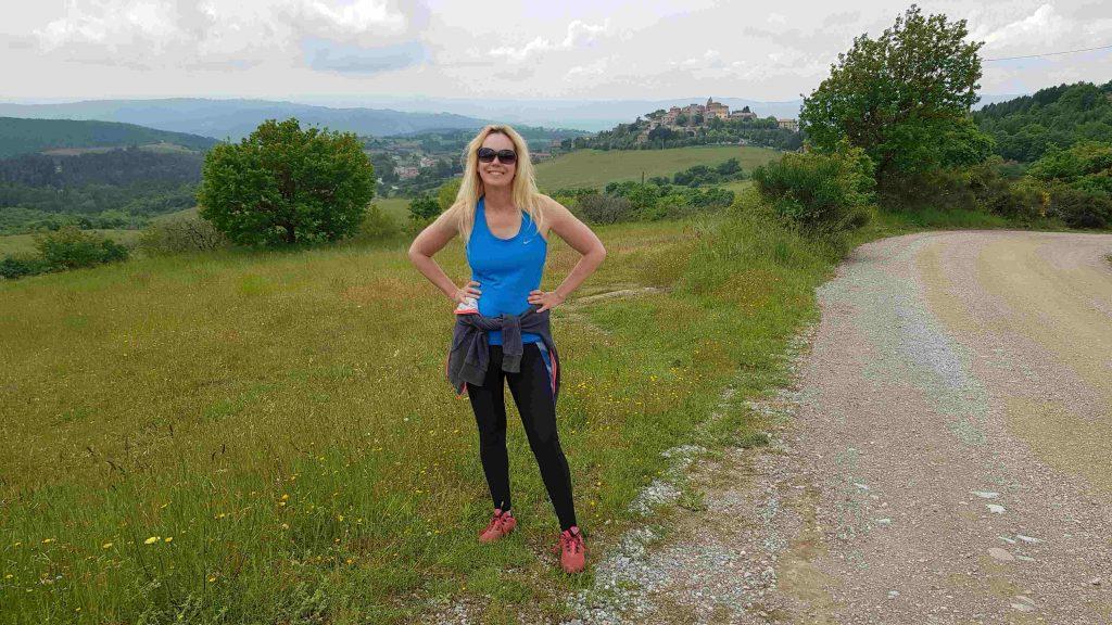 wandelen in Umbrie