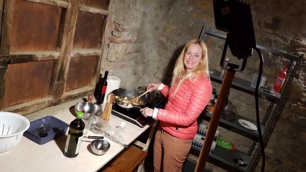 kamperen in je eigen vakantiehuis in Umbrie