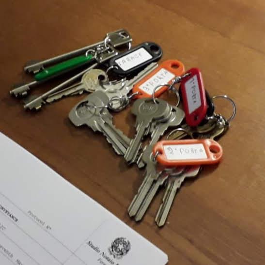 sleutels vakantiehuis Umbrie