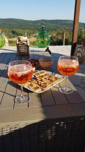 aperitivo in Umbrie