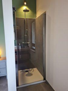Walk in shower master bedroom 1