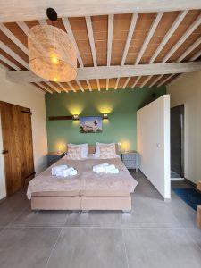 Master bedroom 1 with walk in shower